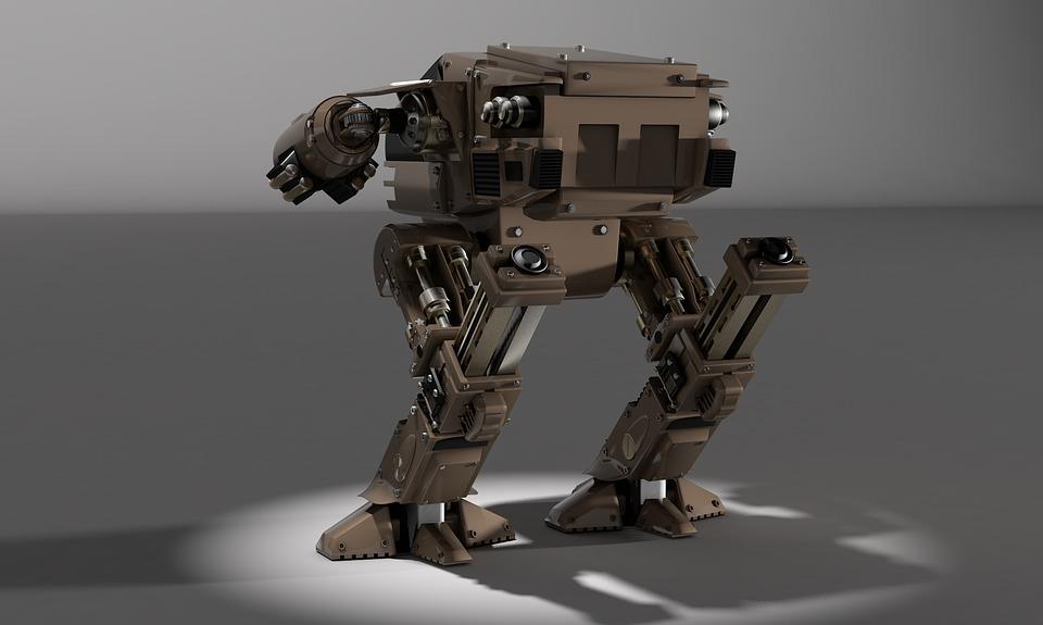 Robot sotto stress