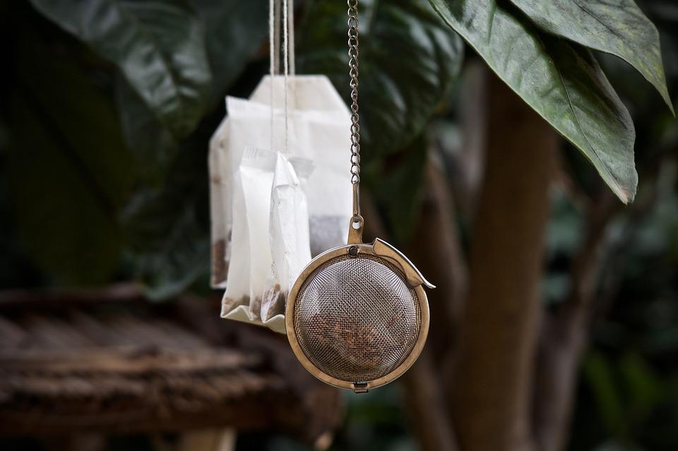 Profumare la casa con le bustine di tè